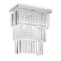 Applique design Ideal lux Martinez Chrome Métal 166254