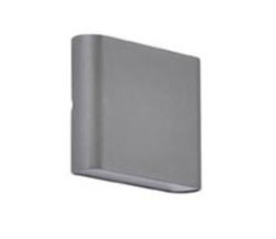 Applique extérieures led Little Garden Manhattan Gris anthracite Fonte d'aluminium 653682