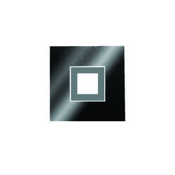 Applique led Grossmann Karree Noir brillant Aluminium 51-783-378