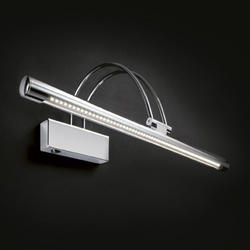Applique tableau led Ideal lux bow Chrome Acier 007045
