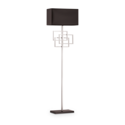 Lampadaire design Ideal lux Luxury Chrome Métal 201085