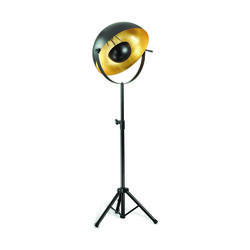 Lampadaire design Ideal lux Stage Noir Métal 132778