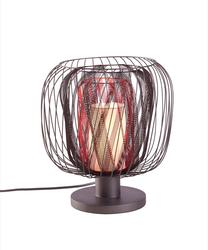 Lampe design Bodyless Rouge Forestier Bodyless Rouge Métal 20560