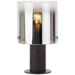 Lampe design Brilliant Beth Marron Métal - Verre 75547/20