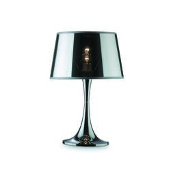 Lampe design Ideal lux London Chrome Métal 032375