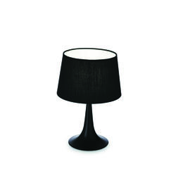 Lampe design Ideal lux London Noir Métal - Tissus 110554