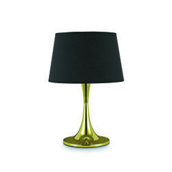 Lampe design Ideal lux London Or Métal - Tissus 110479
