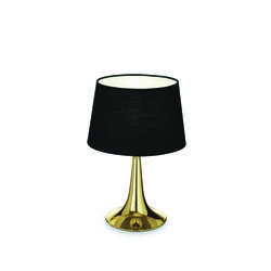 Lampe design Ideal lux London Or Métal - Tissus 110578