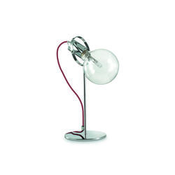 Lampe design Ideal lux Radio Chrome Métal 113357