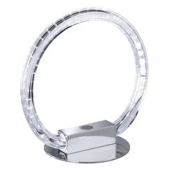 Lampe led Sampa Helios Lund Chrome Métal - Verre 432053