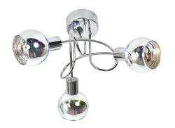 Plafonnier 3L design Corep Galaxy Chrome Métal 652926