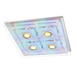 Plafonnier led Action zoe Chrome Acier 940605010000