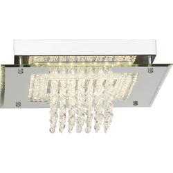 Plafonnier LED Brilliant Glitter Chrome Métal - Verre G90136/15