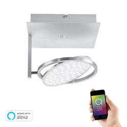 Plafonnier led connecté Neuhaus Q-Orbit Gris 6801-95