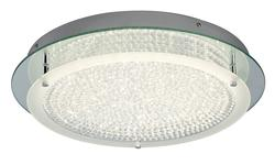 Plafonnier led Mantra CRYSTAL LED Chrome Métal/cristal 5092