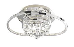 Plafonnier led Wofi Medley Chrome 9103.01.01.8460