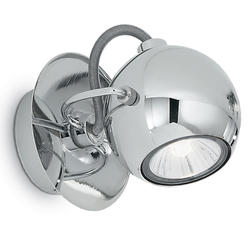 Spot design Ideal lux Lunare Chrome Métal 066790