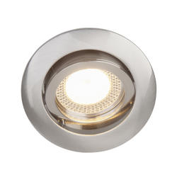 Spot encastré led Brilliant Nickel satiné Métal G94649/13
