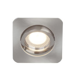 Spot encastré led Brilliant Nickel satiné Métal G94651/13