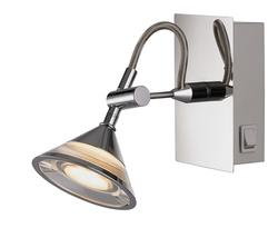 Spot led Lo design CLARI Chrome Métal/acrylique LO00012722