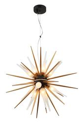 Suspension 12 lampes design Lo design Elégante Or Métal LO00020780