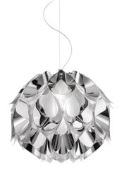 Suspension 3 lampes design Slamp Flora Gris Technopolymère FLO85SOS0002S_000
