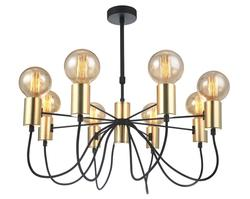 Suspension 8 lampes design Lo design Shuav Or Métal LO00020790