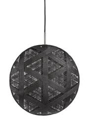 Suspension design Chanpen Hexagonal Noir Forestier Chanpen Noir Tissu 20262