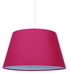 Suspension design Corep Tambour Rouge Tissu 504411