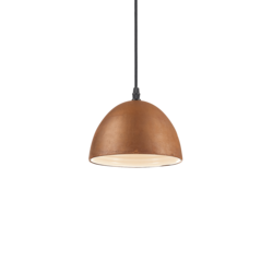 Suspension design Ideal lux Folk Rouille Métal 174204