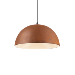 Suspension design Ideal lux Folk Rouille Métal 174211