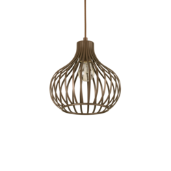 Suspension design Ideal lux Onion Marron Métal 205281