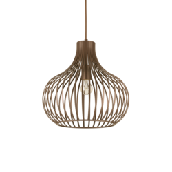 Suspension design Ideal lux Onion Marron Métal 205298