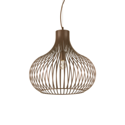 Suspension design Ideal lux Onion Marron Métal 205304