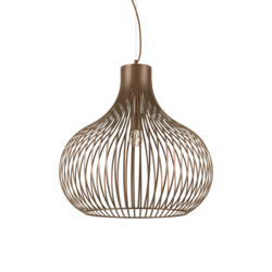 Suspension design Ideal lux Onion Marron Métal 205311