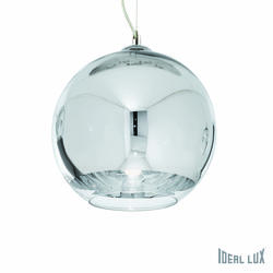 Suspension design Ideal lux Discovery Chrome Métal 059648