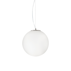 Suspension design Ideal lux Mapa Blanc Verre 161372