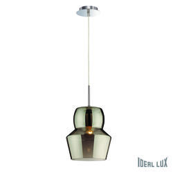 Suspension design Ideal lux Zeno Gris Verre 088938