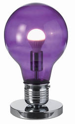 Suspension design Lo design Ampoule Violet Verre LO00011513