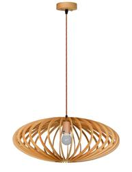 Suspension design Lo design Natura Beige Bois LO00021496