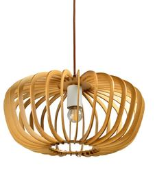 Suspension design Lo design Natura Beige Bois LO00021497