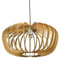 Suspension design Lo design Natura Beige Bois LO00021501