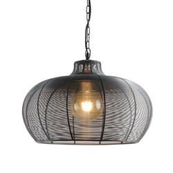 Suspension design Lo destock Noir Métal 11784 gray