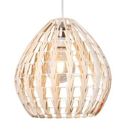Suspension design Lo destock Beige Rotin P80439 NATURAL