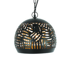 Suspension design Lo Select Abou Noir Acier LZC-648 B-BG