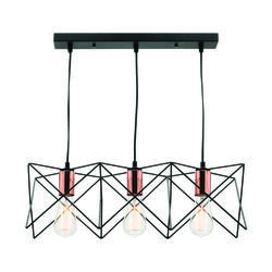 Suspension design Lo Select Orlando Noir Métal KS1462P-CP-3BK