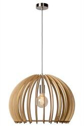 Suspension design Lucide Beige Bois 34424/50/76