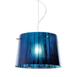 Suspension design Slamp Woody Bleu Bois WOO77SOS0000B_000