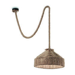 Suspension en corde Ideal lux Canapa Antique Corde 134833