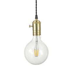 Suspension industrielle Ideal lux Doc Laiton 163154